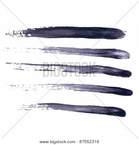 Grungy Abstract Hand-painted Brush Strokes