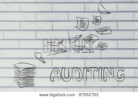 Auditing Procedures: Design With Business Documents Flying