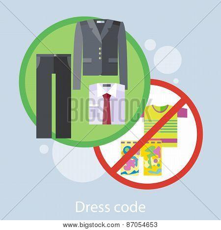 Dress Code Concept
