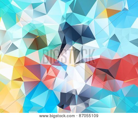 Abstract geometric background new