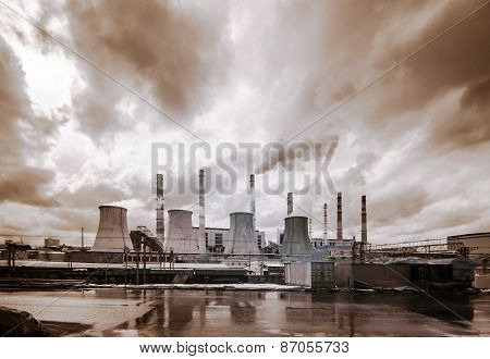 Central Heating And Power Plant.