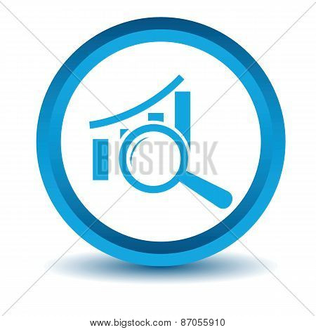 Blue Graph scan icon