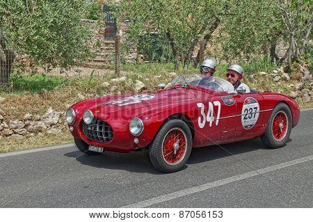 Ermini 1100 Sport Motto (1952) In Mille Miglia 2014