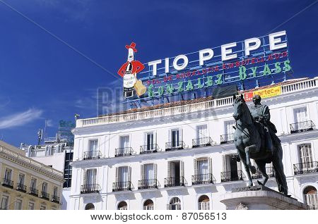 The Iconic Tio Pepe Sign.