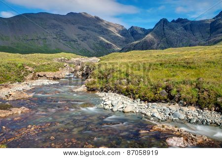 Small stream on the Isle of Skye