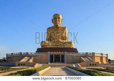 Big Golden Buddha Statue In Thailand