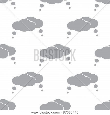 New Clouds seamless pattern