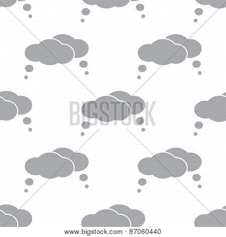 New Clouds seamless pattern