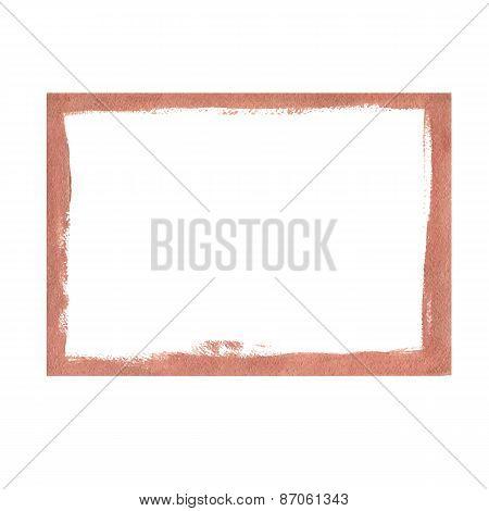 Bronze grunge frame