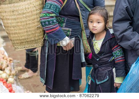 Hmong girl in Sapa, Vietnam