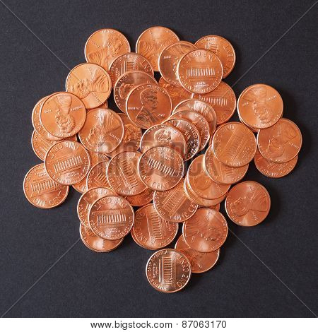 Coins 1 Cent Penny Cent