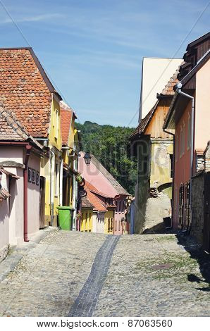Sighisoara In Romania