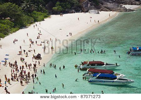 Warm And Clear Ocean At Similan Island, Thailand