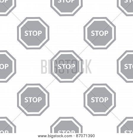 New Stop seamless pattern