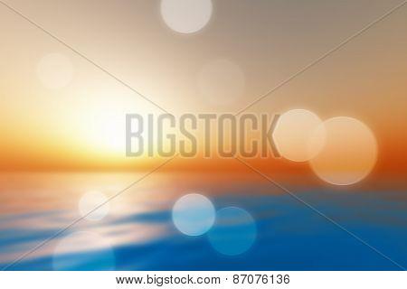 Big Sunset Blur