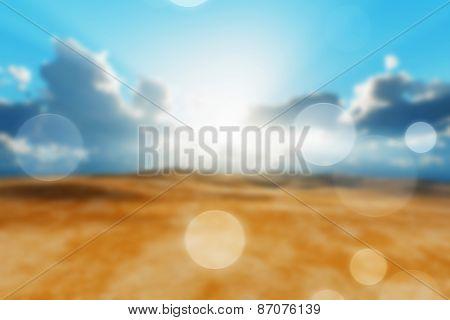 Dry Desert Blur