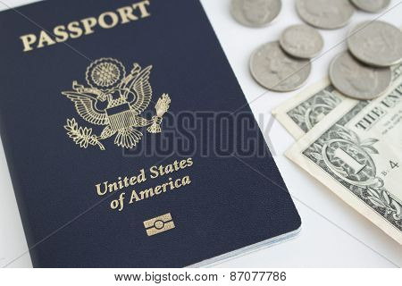 Us Passport And Coins