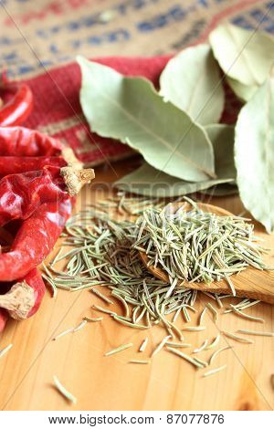 Dried Herb And Spice