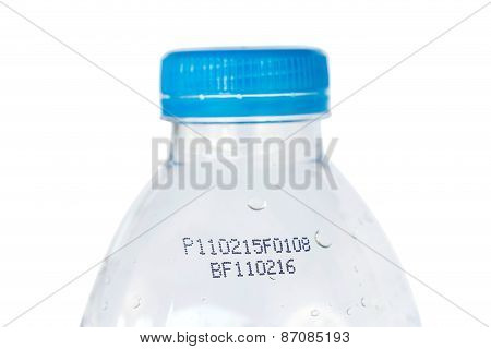 Drinking Water Bottle With Expiration Date