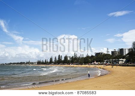 Redcliffe Sutton's Beach During The Redcliffe Sails Festival