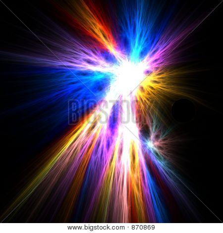 spirituelle Licht