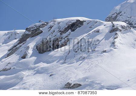 Mountain landscape of Krasnaya Polyana, Sochi, Russia