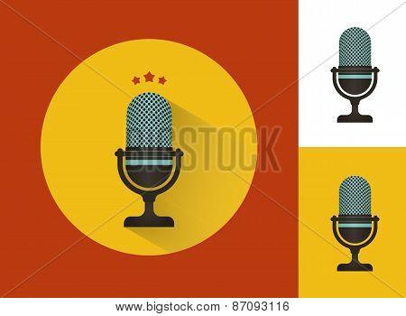 Karaoke microphones set