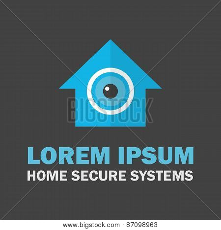 House Secure System Logo