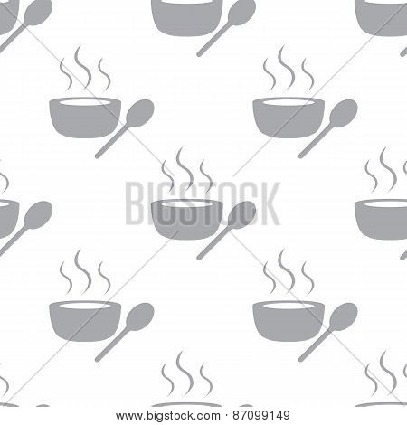 New Lunch time seamless pattern