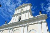 stock photo of san juan puerto rico  - Cathedral of San Juan Bautista is a Roman Catholic cathedral in Old San Juan - JPG