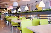 foto of cafe  - Modern cafe interior  - JPG