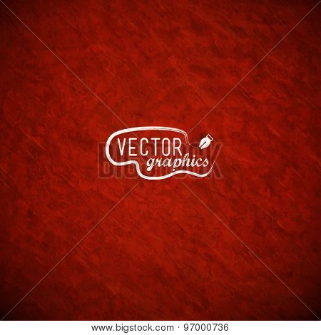 Red vector paper texture