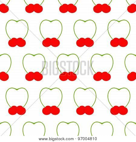 Pattern With Cherries