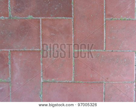 Old Brick Footpath Background