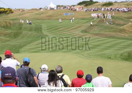 Gole Course Hole 12 At The Golf French Open 2015