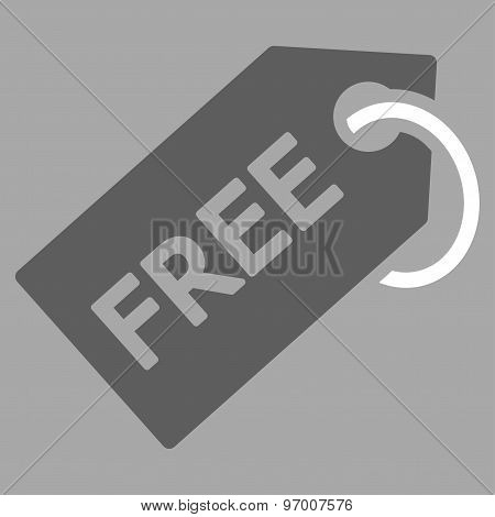 Free Tag icon from Business Bicolor Set