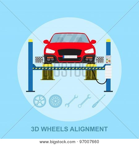 Wheels Alignment