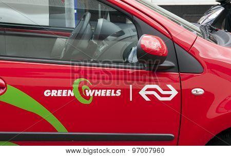 Green Wheels Car