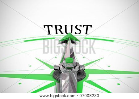 The word trust against compass