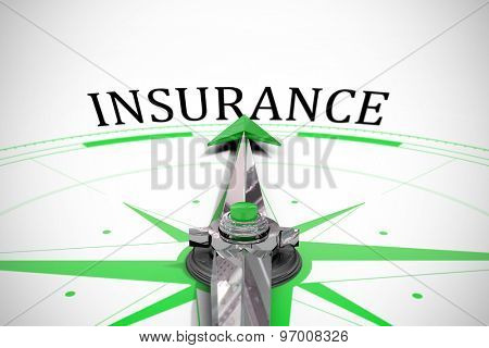The word insurance against compass