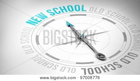 Compass against new and old school