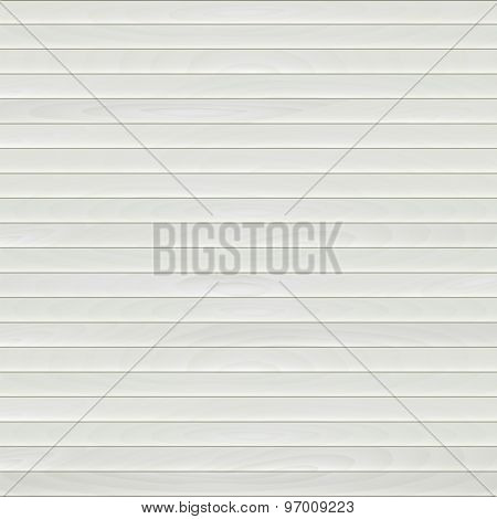 Light Wood Texture Of Small Strips. Vector Background