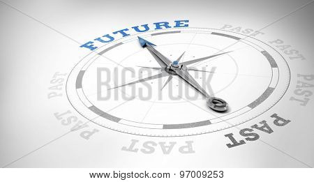 Compass against future or past
