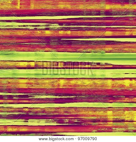 Grunge texture, may be used as retro-style background. With different color patterns: yellow (beige); purple (violet); green; red (orange)