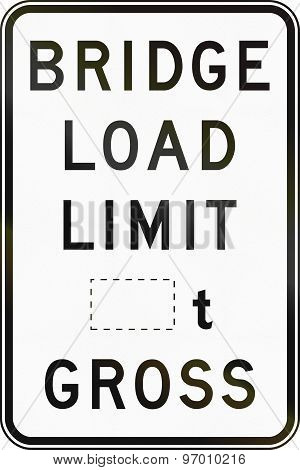 Gross Bridge Load Limit In Australia