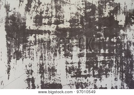 Abstract pattern of weathered plaster