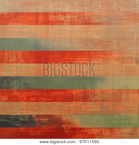 Antique vintage texture, old-fashioned weathered background. With different color patterns: yellow (beige); gray; green; red (orange)