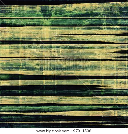 Old antique texture (for background). With different color patterns: yellow (beige); blue; green; black
