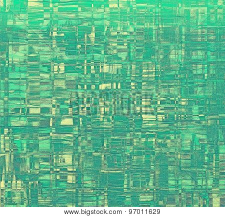Old grunge antique texture. With different color patterns: yellow (beige); gray; green; cyan