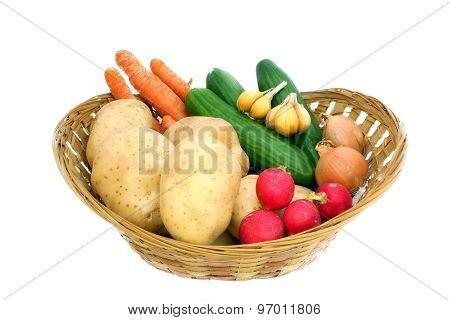 Fresh Juicy Vegetables
